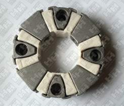 Эластичное соединение (демпфер) для колесный экскаватор HITACHI ZX220W-3 (4641504, 4671573, 4463993, 4654760, 4463992, 4687331)