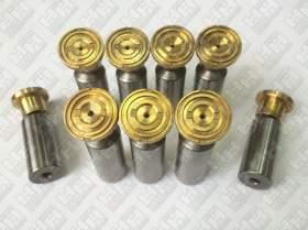 Комплект поршней (9шт.) для гусеничный экскаватор HYUNDAI R290LC-7A (XJBN-00947, XJBN-00946, XJBN-00934)