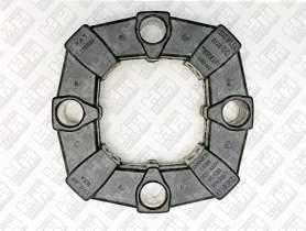 Эластичное соединение (демпфер) для колесный экскаватор JCB JS130W ()